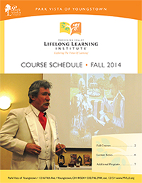 2014 fall course brochure cover